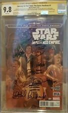 Journey to Star Wars: Force Awakens #1_CGC 9.8 SS_Ford, Hamill, Baker, Fisher +6