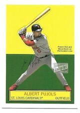 ALBERT PUJOLS  2003 Topps Bazooka Stand-Ups #1   CARDS/ANGELS