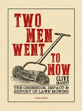 Antique Vintage Mower History of Lawn Mowing Two men went to mow
