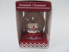 Tim Hortons 2015 Ornament Snow Globe in Original Box