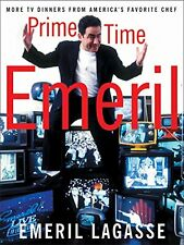 Book - Celebrity Chef - Prime Time Emeril : More TV Dinners from Emeril Lagasse