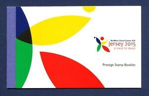 JERSEY - 1875b - FVF MNH Prestige Booklet  - NatWest Island Games, Sports - 2015