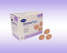 DermaPlast sensitive Pflaster Strips 22 mm rund 200 Stück