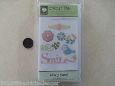Cricut Cartridge Lovely Floral 2000166 New Sealed