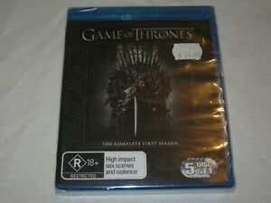 Game Of Thrones - Complete Season 1 - Brand New & Sealed - Region B - Blu Ray