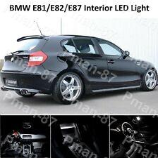 DELUXE BMW E81 E82 E87 1 SERIES SALOON LED  INTERIOR UPGRADE KIT SET WHITE