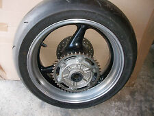 HONDA FIREBLADE  CBR929/954 REAR WHEEL WITH TYRE / DISC AND SPROCKET CARRIER