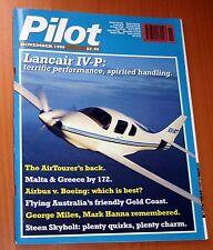 Pilot 1999 November Lancair,Steen Skybolt,Victa