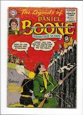 """THE LEGENDS OF DANIEL BOONE #6 [1956 GD+] """"THE OUTLAW FORT!""""  SCARCE!"""