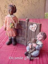 """Sarah's Attic """"Love Starts With Children Ii"""" 93/94 Collectors Club Le w/Coa Rare"""