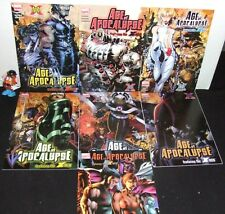 X-MEN NEW AGE OF APOCALYPSE 7 ISSUE SET #1-6 + ONE-SHOT 10TH ANNV MARVEL '05 NM-