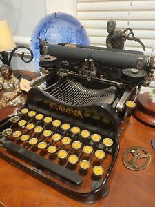 antique corona no. 3 typewriter 1917