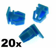 20x Honda Plastic Trim Clips- For exterior door mouldings, side trim & bumpstrip