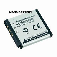 Battery NP-50 for Fujifilm F100fd F200EXR F300EXR F305EXR F50fd F60fd F70EXR F75