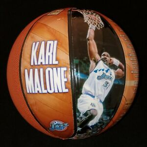 Karl Malone Autograph Basketball Utah Jazz Limited Edition of 32 JSA