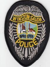 WINSTON-SALEM POLICE SHOULDER PATCH NORTH CAROLINA NC