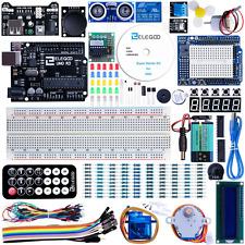 UNO Projekt Starter Kit Einsteigerset Arduino UNO R3 5V-Relais Servomotor
