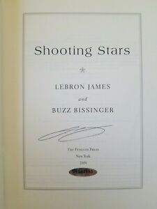 """LeBron James Autographed """"Shooting Stars"""" Book Cavs Lakers Heat Signed Auto"""