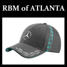 Genuine Mercedes Benz AMG Formula 1 Heritage Hat Cap w/Laurel Wreath F1