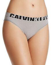 Calvin Klein Seamless Logo Low Rise Bikini Panty Gray Heather New Size M