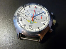 NEW STURMANSKIE PILOT Watch Russia 3133 Chronograph Poljot Mechanical AviatorNOS