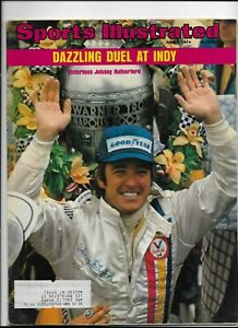 Sports Illustrated June 3 1974 Duel at Indy Johnny Rutherford Victorious NM