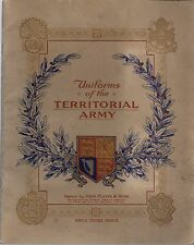 Player 1939 Uniforms of the Territorial Army + Album BV $105+  $35