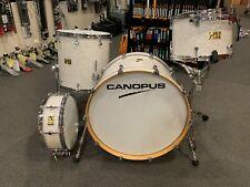 Canopus 4 Teile Neo Klassischer Trommel Set Weiß Marine Pearl