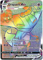 Dragapult Vmax 197/192 - Secret Rare - Pokemon Sword and Shield Rebel Clash