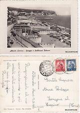 # ALBISSOLA: SPIAGGIA E STABILIMENTI BALNEARI  1950