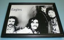 The Eagles Framed B&W Close Up Print