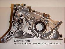 Mitsubishi Shogun Pajero L200 Motor Kurbelwelle Ölpumpe Fabrikneu Sensor Typ