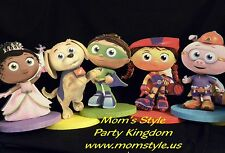 Super Why and Friends Birthday Party Decoration