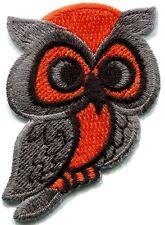 Owl bird animal wildlife applique iron-on patch S-290