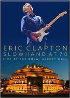 ERIC CLAPTON - SLOWHAND AT 70-LIVE AT THE ROYAL ALBERT HALL 2 DVD + CD NEU