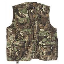 Mil-tec - Gilet de Pêche Veste Chasse Huntingweste plusieurs Couleurs Hunting Camouflage L