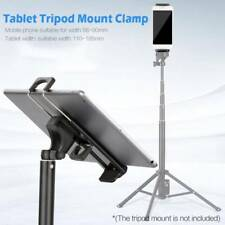 Cell Phone Tripod Adapter Mount Clip Holder Connector Head For 4-11'' iPhone/Pad