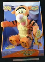 Get up 'n Go Tigger Interactive Plush Toy, Full Retail package intact SEE VIDEO