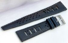 Tropic type 20mm vintage diving watch band 1960s/70s comfortable soft rubber NOS