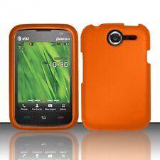 Hard Rubberized Case plus for Pantech Renue P6030 - Orange