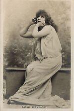 "PHOTO CP VINTAGE : SARAH BERNHARDT ""PHEDRE"" RACINE 1898"