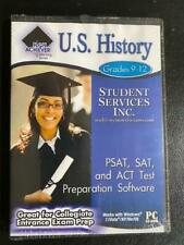 High Achiever U.S. History Pc Cd-rom Grades 9-12 Student Services Inc New Sealed
