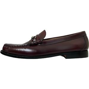 G.H. Bass Mens Leonard Weejuns Horsebit Loafers Size 12D Burgundy