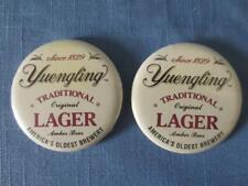 2 Yuengling Lager Advertising Pinbacks Since 1829