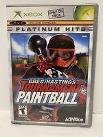 Greg Hastings' Tournament Paintball PH (ORIGINAL Microsoft Xbox) GAME COMPLETE