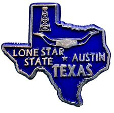 Texas The Lone Star State Souvenir Fridge Magnet