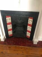 Federation Style Cast Iron Fireplace