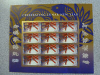 #4726 NEW/MNH~IMPERFORATE SHEET/12~2013 Lunar New Year of the Snake