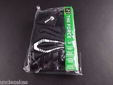 Cutters S930H The Force .5 Lineman Black Adult L Football Gloves