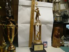 Vintage NY Yankees Schaefer Beer collectible trophy HISTORY Rare Unique Sponsor